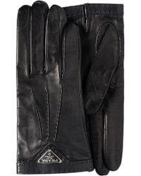cb140a82cca77 Prada - Handschuhe aus Nappaleder - Lyst