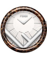 Fendi ラナウェイ 置時計 - メタリック