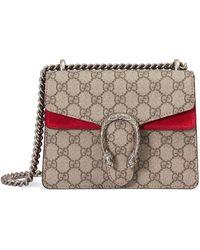 Gucci - Mini 'Dionysus' Schultertasche mit Monogrammmuster - Lyst