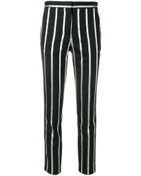Each x Other - Stripe Cropped Trousers - Lyst