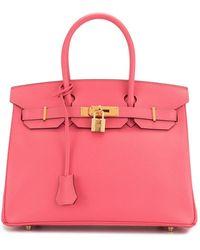 Hermès 2017 Pre-owned Birkin 30 Bag - Pink