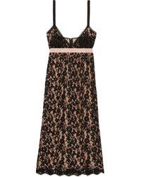 Gucci Flower Lace Dress - Black