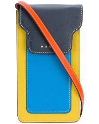 Marni Trunk Iphone ケース - ブルー