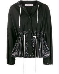 Givenchy クロップド ウィンドブレーカー - ブラック