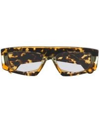 Jacquemus Yauco Tortoiseshell Sunglasses - Orange