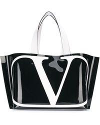 Valentino Garavani - Vロゴ ハンドバッグ - Lyst