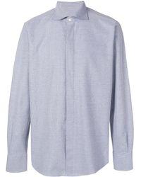 Canali - パターンシャツ - Lyst