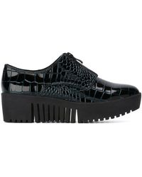 Opening Ceremony - Croc Effect Zip Shoes - Lyst