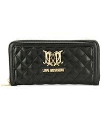 Love Moschino - Quilted Effect Wallet - Lyst