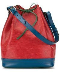 Louis Vuitton 1994er 'Noe' Schultertasche - Rot