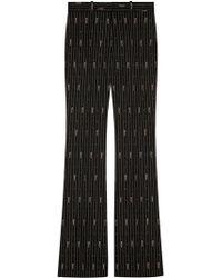 Gucci - Pantaloni a righe - Lyst