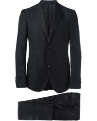 Gucci Micro Dots Patterned Suit - Black