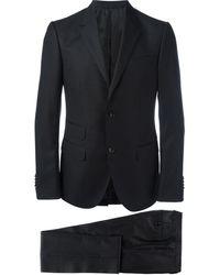 Gucci Zweiteiliger Anzug mit Punkten - Schwarz