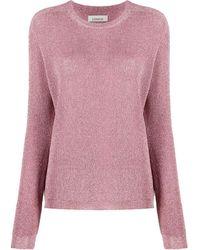 Laneus - Pullover mit rundem Ausschnitt - Lyst