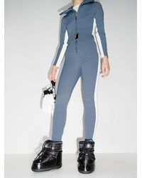 CORDOVA バイカラー ジャンプスーツ - ブルー