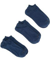 DIESEL ロゴ 靴下 セット - ブルー