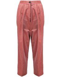 PS by Paul Smith - Corduroy Triple-pleat Trousers - Lyst
