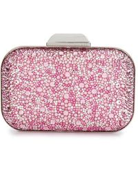 Jimmy Choo Cloud Clutch - Roze