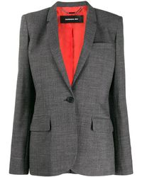 Barbara Bui Single Breasted Blazer - Gray