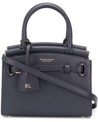 Ralph Lauren Collection The Rl 50 ハンドバッグ S - ブルー