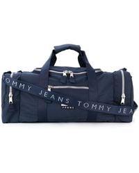 Tommy Hilfiger Logo Patch Holdall - Blue
