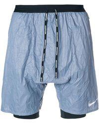 Nike - Crinkle Running Shorts - Lyst