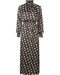 Astraet - Long Floral Dress - Lyst