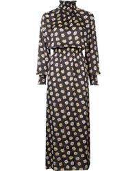 Astraet - Long Floral Dress - Lyst