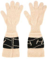 Hermès 1986 Pre-owned Logos Gloves - Black