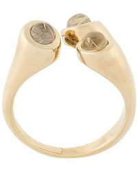Pamela Love - Aorta Rutilated Quartz Ring - Lyst
