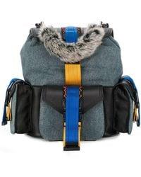DIESEL - Miss-match Backpack - Lyst