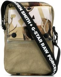 G-Star RAW - Printed Messenger Bag - Lyst