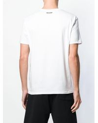 Moschino Rear Logo Print T-shirt - ホワイト
