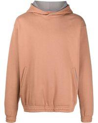 Styland Long-sleeved Organic Cotton Hoodie - Orange