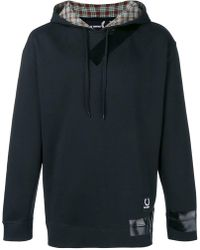 Fred Perry - Plaid Lined Hoodie - Lyst