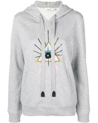 COACH - Eye Patch Hoodie - Lyst