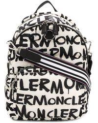 Moncler Rugtas Met Logo - Zwart