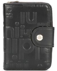 Baldinini Zip Around Logo Wallet - Black