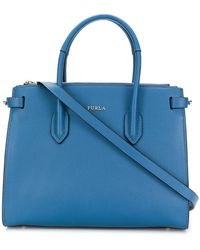 Furla - Classic Logo Tote Bag - Lyst