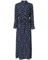 P.A.R.O.S.H. - Butterfly Maxi Dress - Lyst