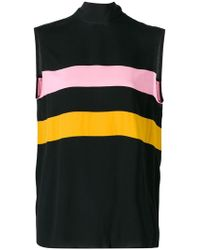 Marni - Colour-block Sleeveless Top - Lyst