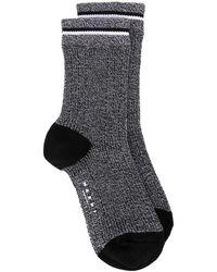 Marni Трикотажные Носки В Мелкую Точку - Серый