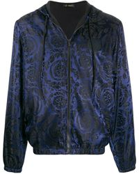 Versace - Куртка-бомбер С Принтом Baroque - Lyst