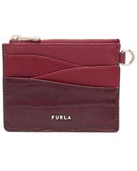 Furla Armonia カードケース - レッド