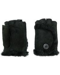 Ugg | Shearling Finger-less Gloves | Lyst