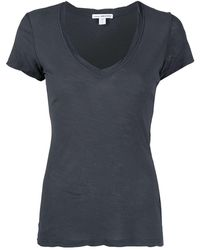 James Perse - Vネック Tシャツ - Lyst