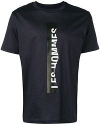 Les Hommes Tシャツ - ブラック