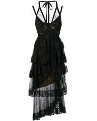 Elie Saab - Kleid im Layering-Look - Lyst