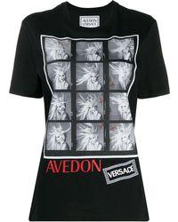 Versace - Richard Avedon Test T-shirt - Lyst