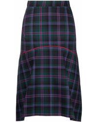 Vivienne Westwood Phoenix チェック スカート - グリーン